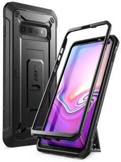 Ốp lưng Samsung Galaxy S10 Plus SUPCASE UB Pro hai lớp toàn thân với bao da và chân đế không có bảo vệ màn hình - INTL thumbnail