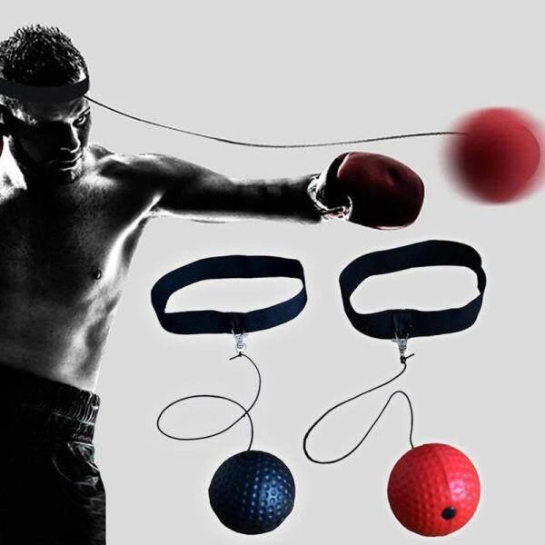 YESPER- Bóng Tập Đấm Bốc Y Bóng Tennis Với Băng Đô Để Luyện Tập Phản Xạ Bóng Tốc Độ Đấm Phản Ứng Đấm Bốc