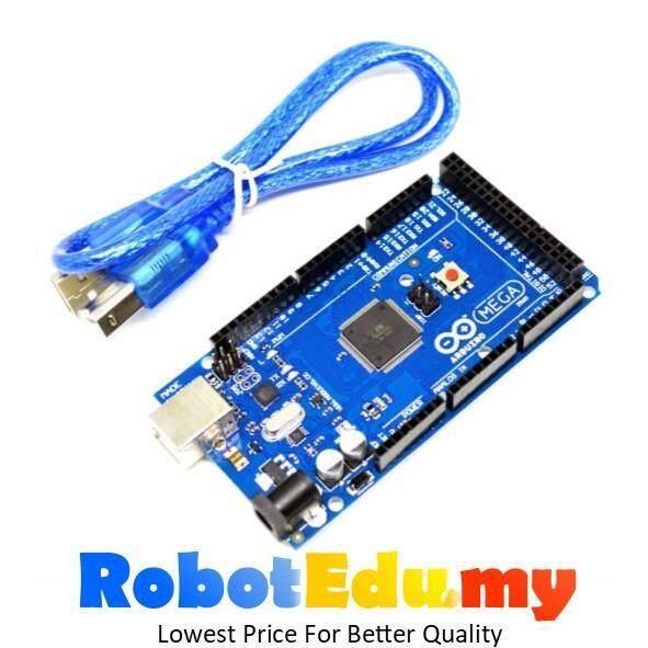 Arduino Compatible Atmel ATMEGA2560 Mega 2560 - Free USB B type Cable Malaysia