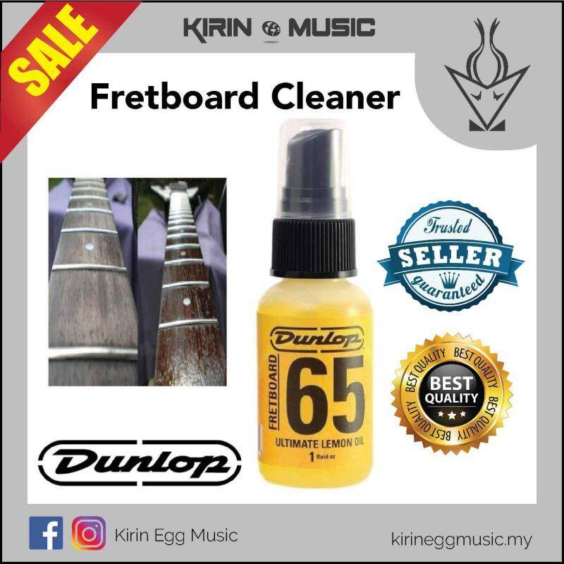 Jim Dunlop Lemon Oil Guitar Fretboard Polish / Cleaner 6551J (6551 J) 1oz Mini Spray Malaysia