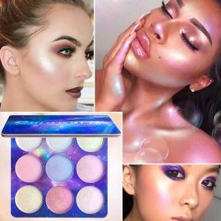 Palet Perona Mata 4 Warna Tahan Lama, Palet Eyeshadow Highlight Tahan Air thumbnail