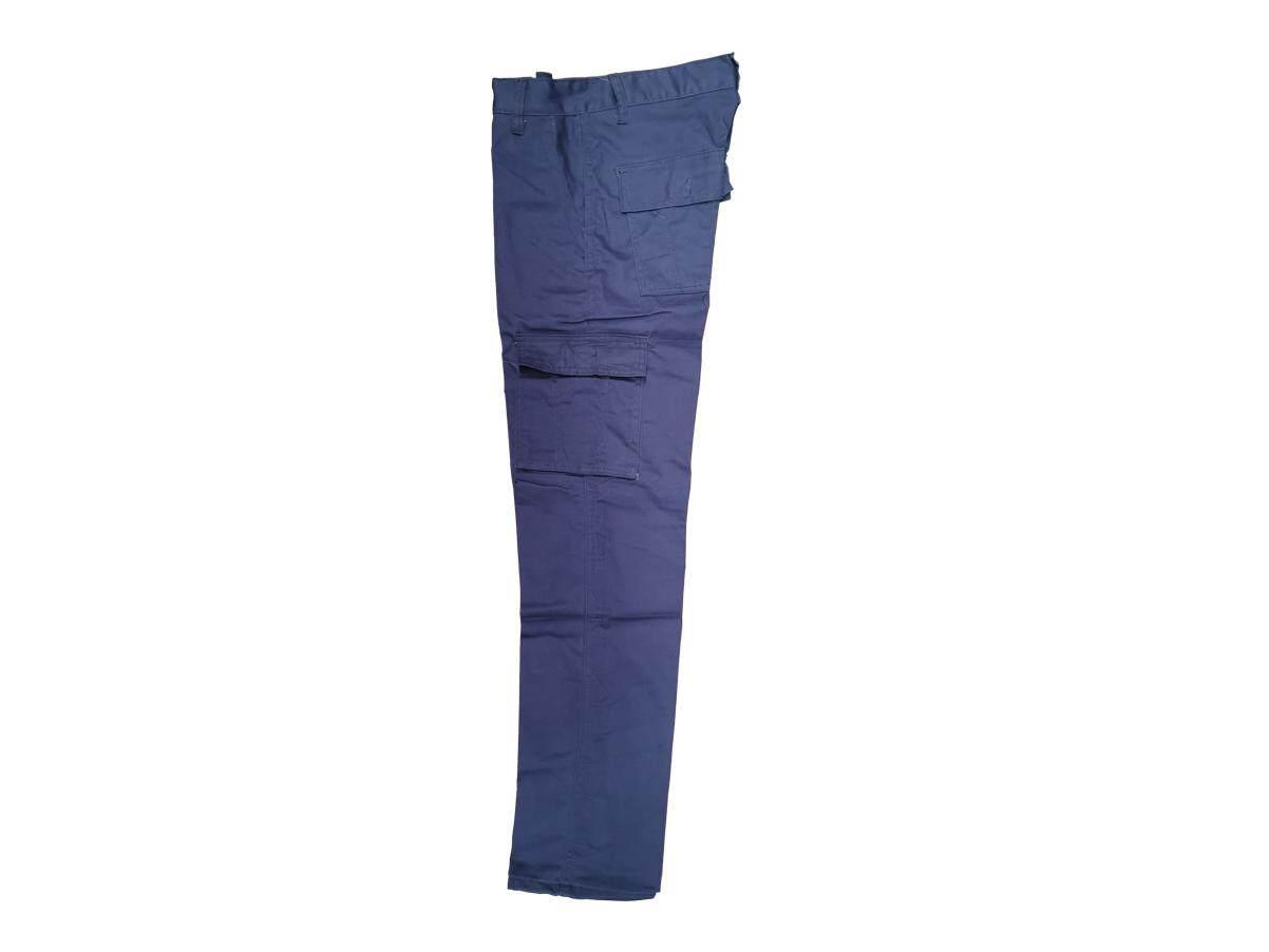 1178 Blue Cotton CSM Cargo Pants