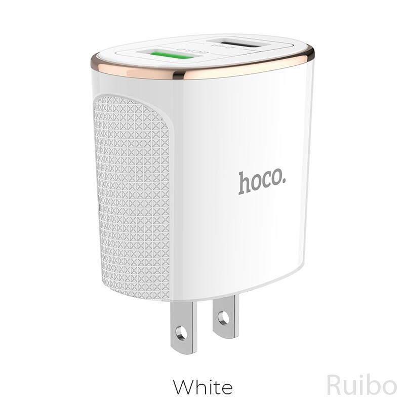Ruibo Hoco C60 Uy Tín Cổng Đôi QC3.0 Sạc Hoa Dành Cho iPhone Samsung Huawei V. V.