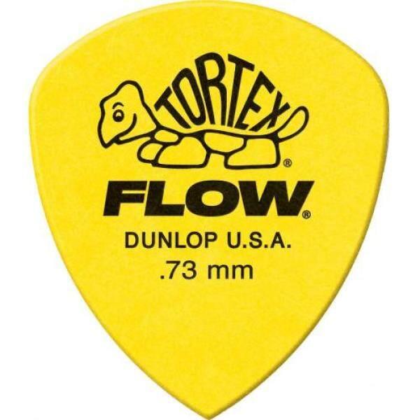 Jim Dunlop 558P073 Tortex Flow 0.73 12 pieces Players Pack Malaysia