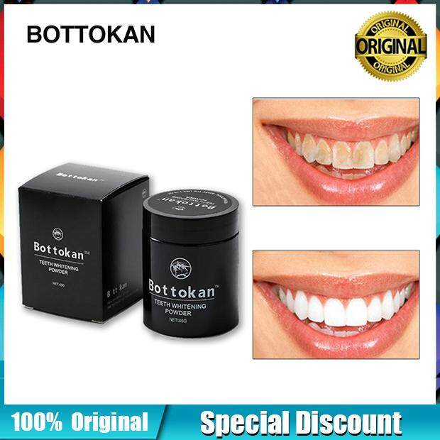 [100% Original]tooth Teeth Whitening 45g/jar Effective Professional Natural Activated Charcoal Powder[ready Stock] By Ticker.bt.