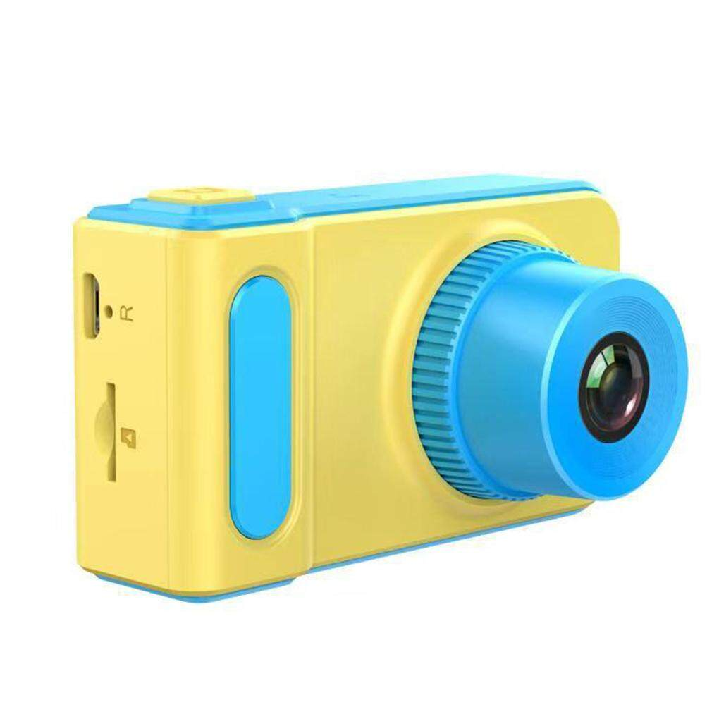Children Mini Digital Camera 2inch IPS Screen Cartoon Cute Camera Toys Children Birthday Gift 1080P Toddler Camera