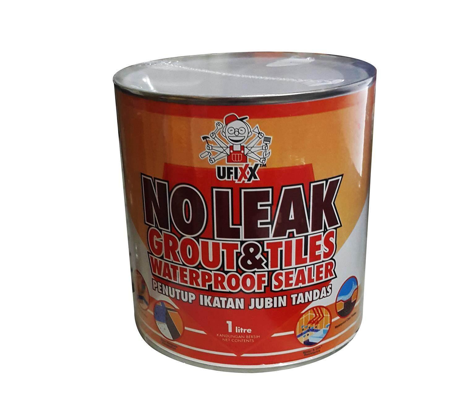 1 Lit UFIXX No leak Grout & Tile Waterproof Sealer , Waterproof Sealer No leak Grout & Tile