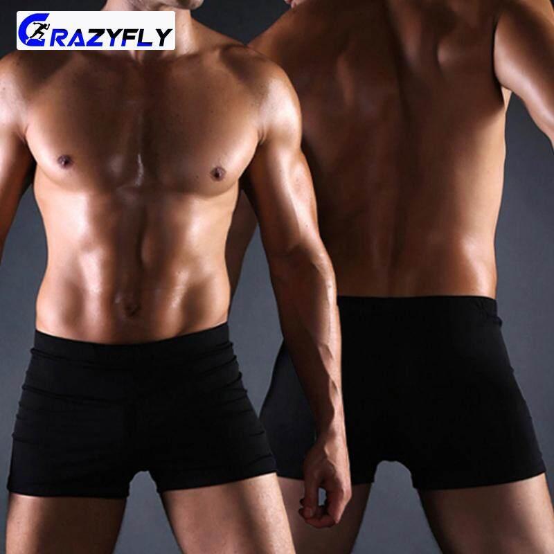 Crazyfly ผู้ชาย Breathable การเล่นเซิร์ฟการว่ายน้ำกางเกงว่ายน้ำนักมวยกางเกงชายหาดขาสั้นสวมใส่ By Crazyfly.