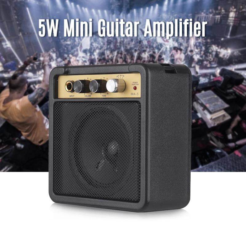 Bộ Khuếch Đại Guitar Mini Loa Âm Ly 5W Với 6.35 Mm Đầu Vào 1/4 Inch Đầu Ra Tai Nghe Hỗ Trợ Khối Lượng Tone Điều Chỉnh Overdrive
