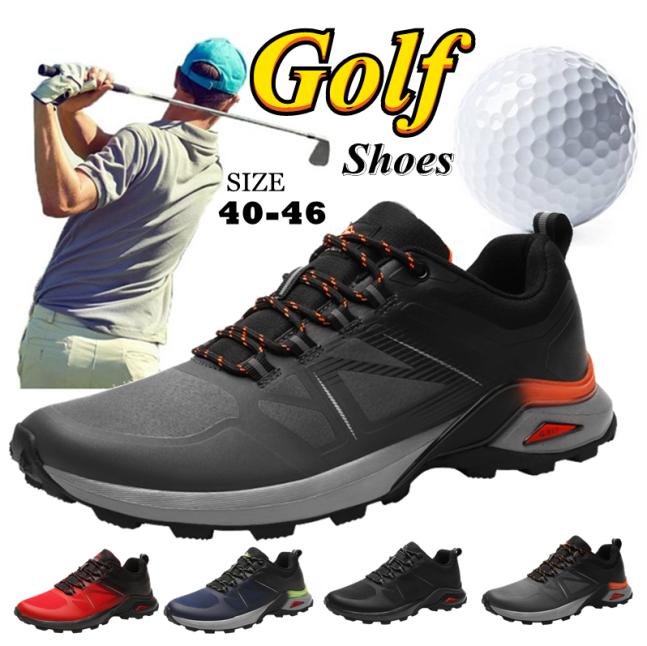2020 Golf Giày Mens Ngoài Trời Giày Thể Thao Đi Bộ Sneakers Golf Chuyên Nghiệp Da Khởi Động Lớn Kích Thước 40-46 Giày Golf Cho Người Đàn Ông giá rẻ