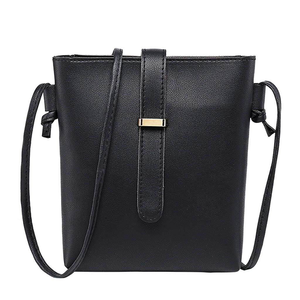 Candy Color One Shoulder Small Backpack Messenger Bag Mobile Phone Bag Purse