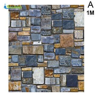 Giấy Dán Tường Tự Dính 3D Giấy Dán Tường Họa Tiết Gạch Không Thấm Nước Giấy Dán Tường Có Thể Tháo Rời Dành Cho Nhà Hàng Gia Đình Quán Cà Phê thumbnail