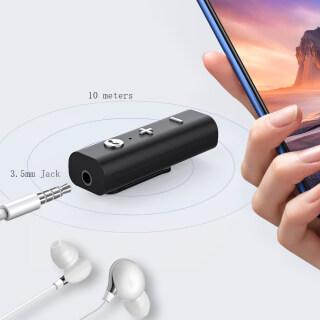 Bộ Thu Âm Thanh Bluetooth 5.0 Giắc Cắm 3.5Mm Bộ Chuyển Đổi Âm Thanh Không Dây Hỗ Trợ Micrô Rảnh Tay Cho Loa Tai Nghe Xe Hơi thumbnail
