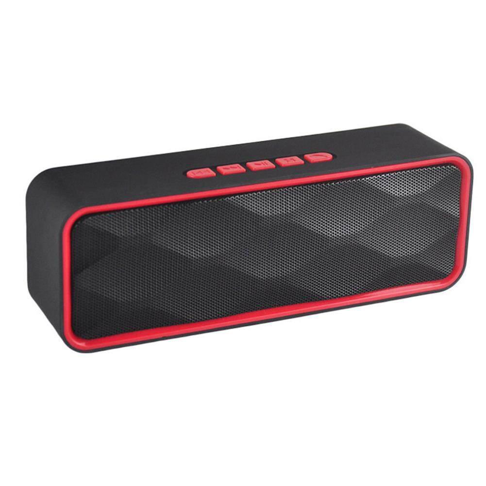 Ngoài trời Loa Bluetooth Không Dây Di Động Loa Siêu Trầm Super Bass Stereo Loa