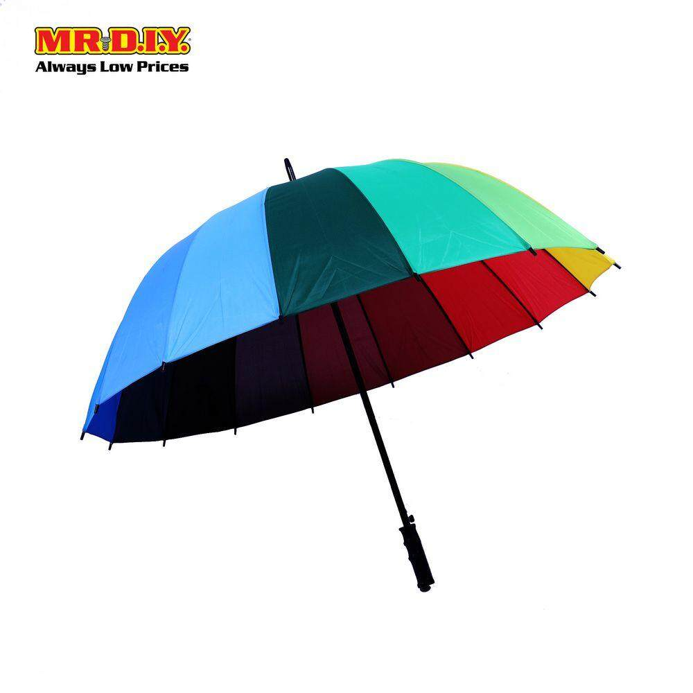 Colorful Rainbow Umbrella By Mr Diy.