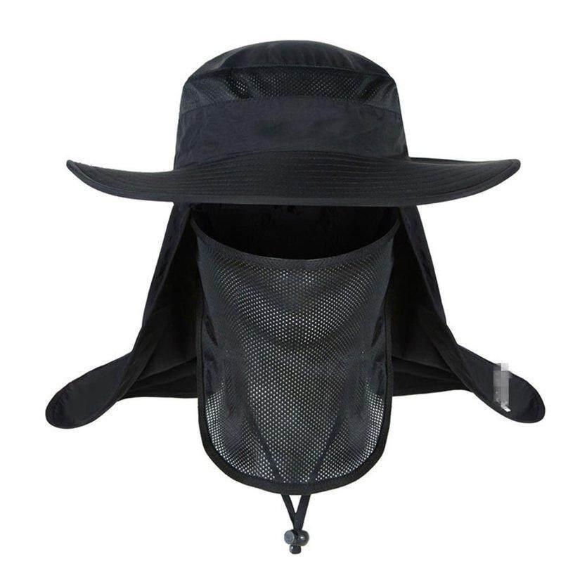 223ebd9b792 YC Curtain Man Woman Cap UV Protective Sunscreen Hat for Outdoor
