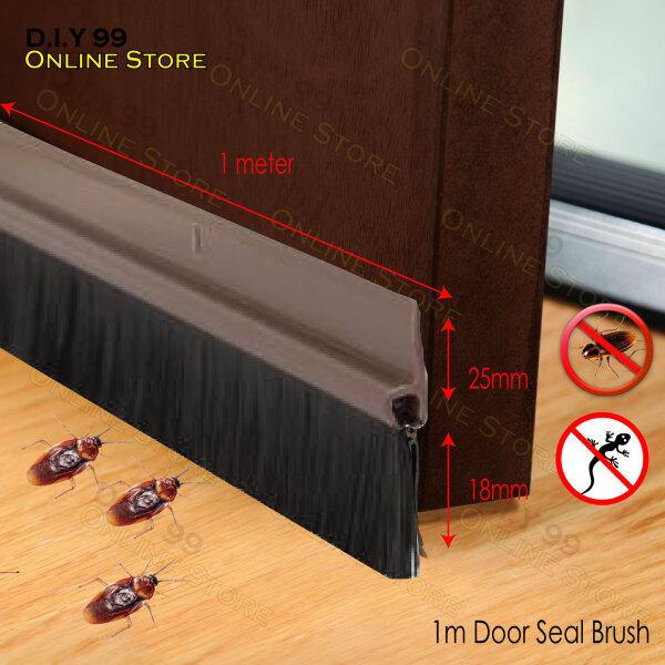 1 Meter High Quality Door Bottom Door Seal / 1 Meter Bottom Door Seal with Scew / Meterai Pintu Jenis Getah / Penutup Bawah Pintu