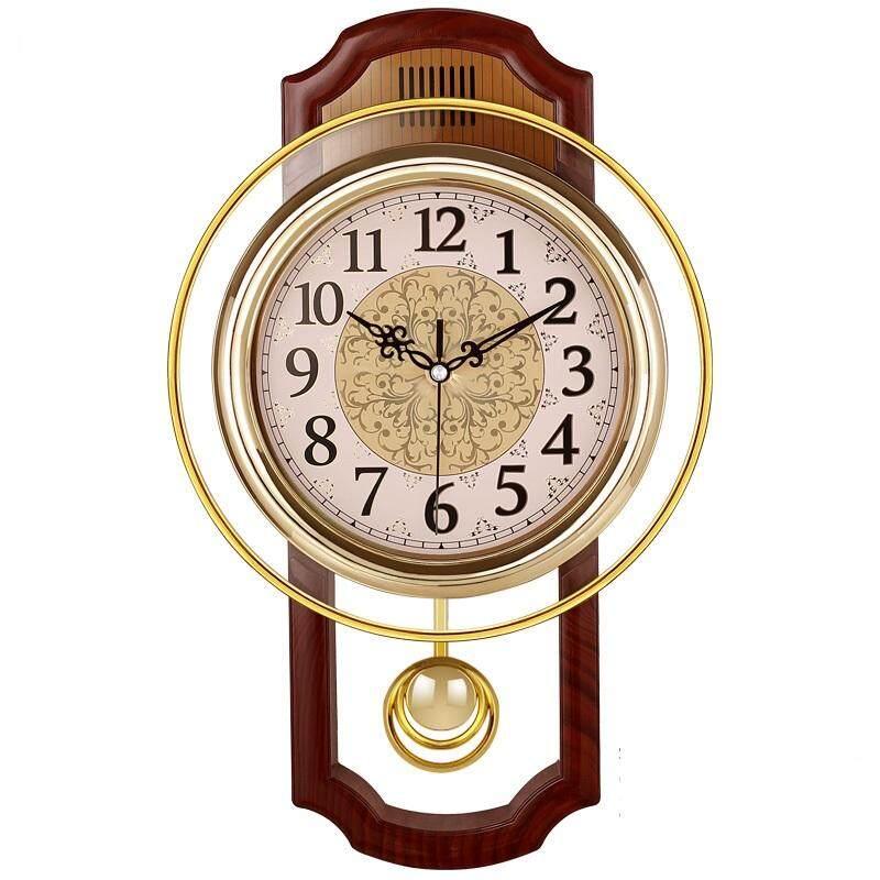 14 Inch Creative Fashion Personality Clock European Garden Clock Living Room Silent Wall Clock Clock Simple Big Clock