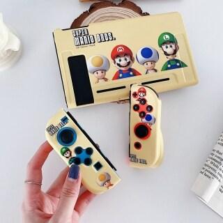 Cho Ốp Nintendo Switch, Công Tắc Vỏ Bọc Toàn Bộ Phim Hoạt Hình Super Mario Brother NS Hộp Điều Khiển Joy-Con Ốp Bảo Vệ Mềm Super Mario Chống Va Đập Chống Trầy Xước Vỏ Bảo Vệ Super Mario thumbnail