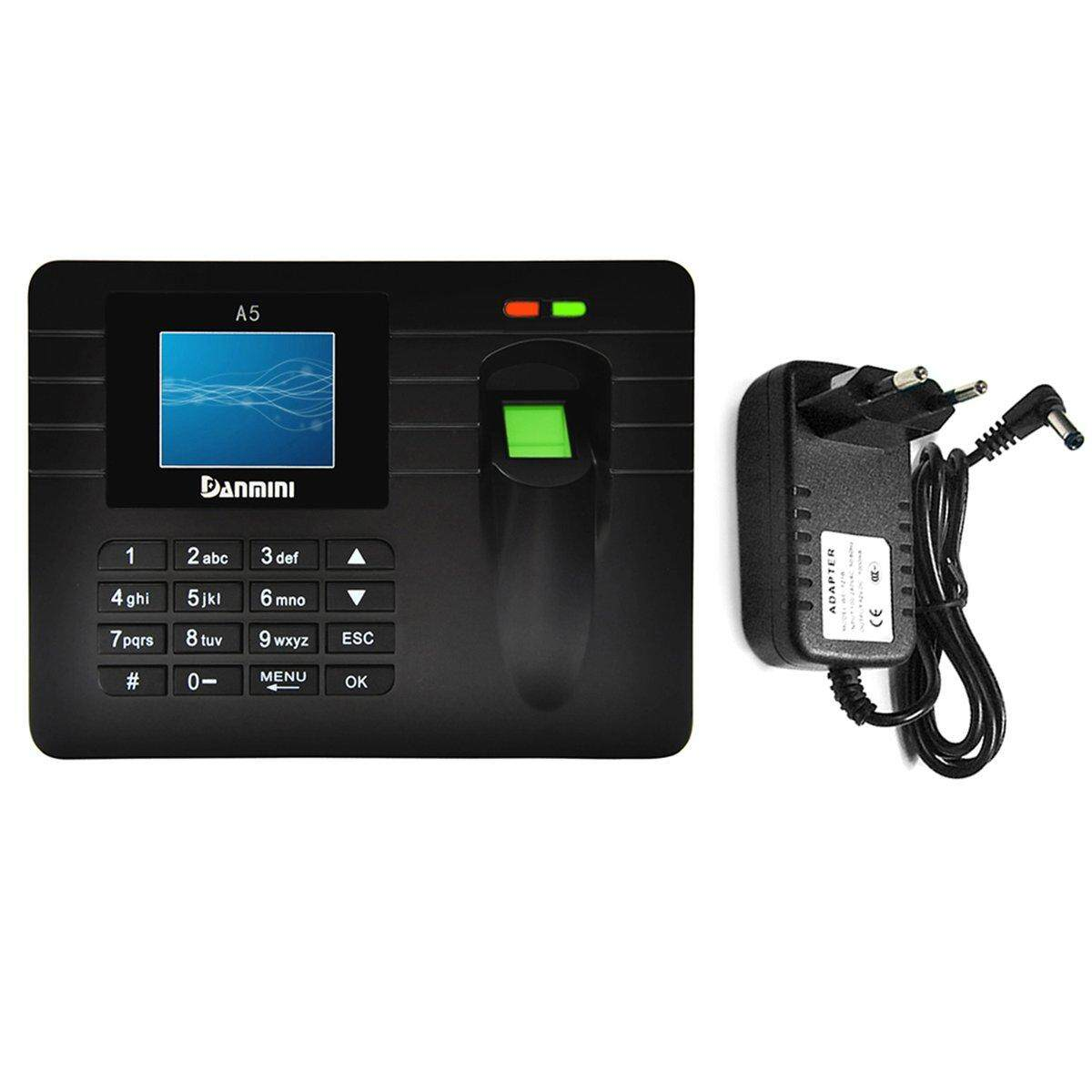 Best Seller DANMINI A5 2.4 Inch Thin Film Transistor LCD Smart Attendance Machine Biometric Fingerprint