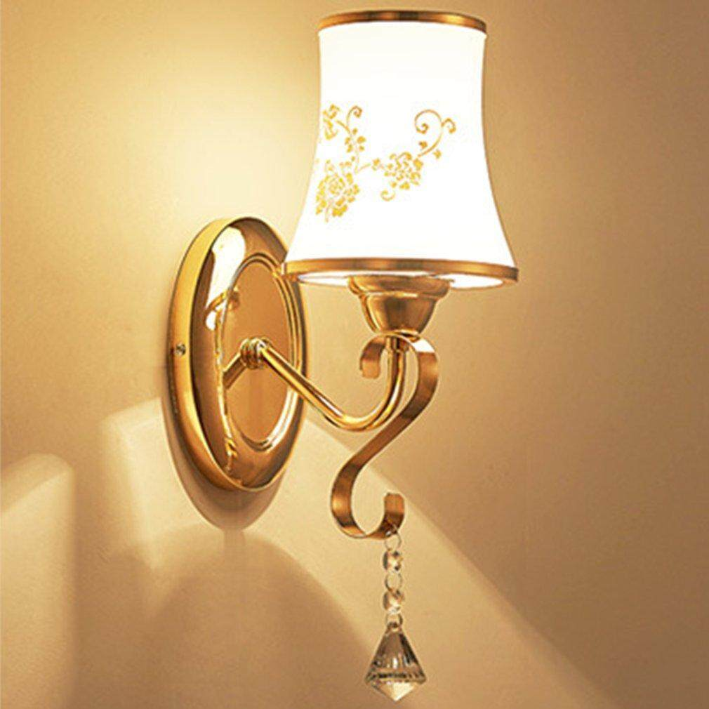 Hot Sellers Novelty Modern Minimalist Led Crystal Wall Light Lamp For Home Decoration B008