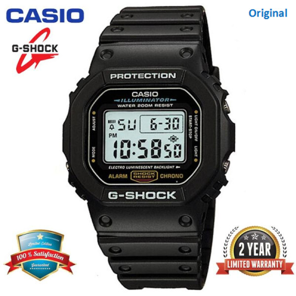 (Free Shipping) Original G Shock GA110 Sport Digital Watch 200M Water Resistant Shockproof and Waterproof World Time LED Light Wrist DW5600/DW5600 Malaysia