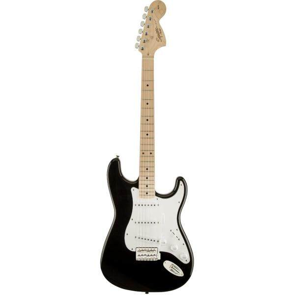 Squier Affinity Stratocaster Electric Guitar, Maple FretBoard, Black Malaysia