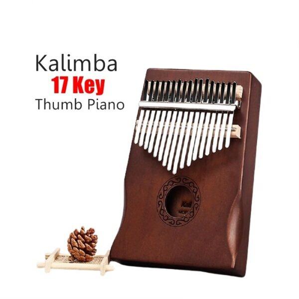 READY STOCK 😘 QRIMO Wooden 17 Keys Acoustic Finger Thumb Piano Kalimba Music Instrument Malaysia
