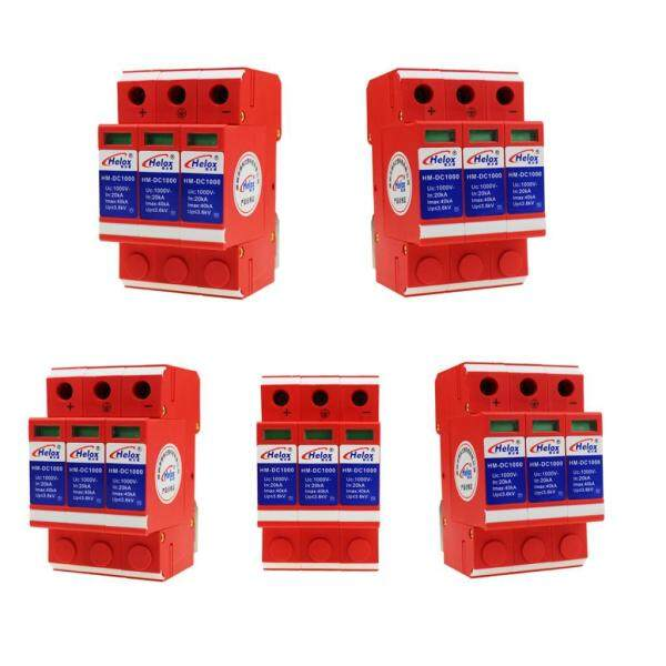 Miracle Shining 5x Lightning Arrester 1000V 40kA Solar Power Supply Surge Protection Devices