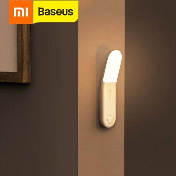 Xiaomi Baseus Led Induction Night Light Human Body Induction Night Light Lamp Usb Rechargeable Led Light Motion Sensor Aisle Light