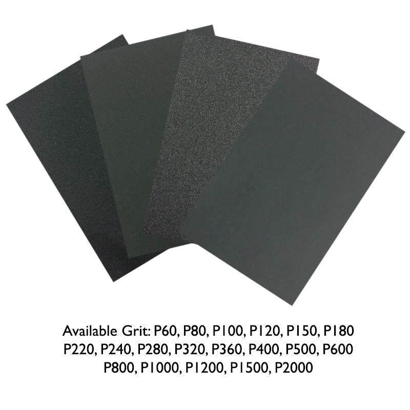EzSpace Sand Paper Abrasive Paper Grade 60 - 2000 Silicon Carbide Waterproof Kertas Pasir
