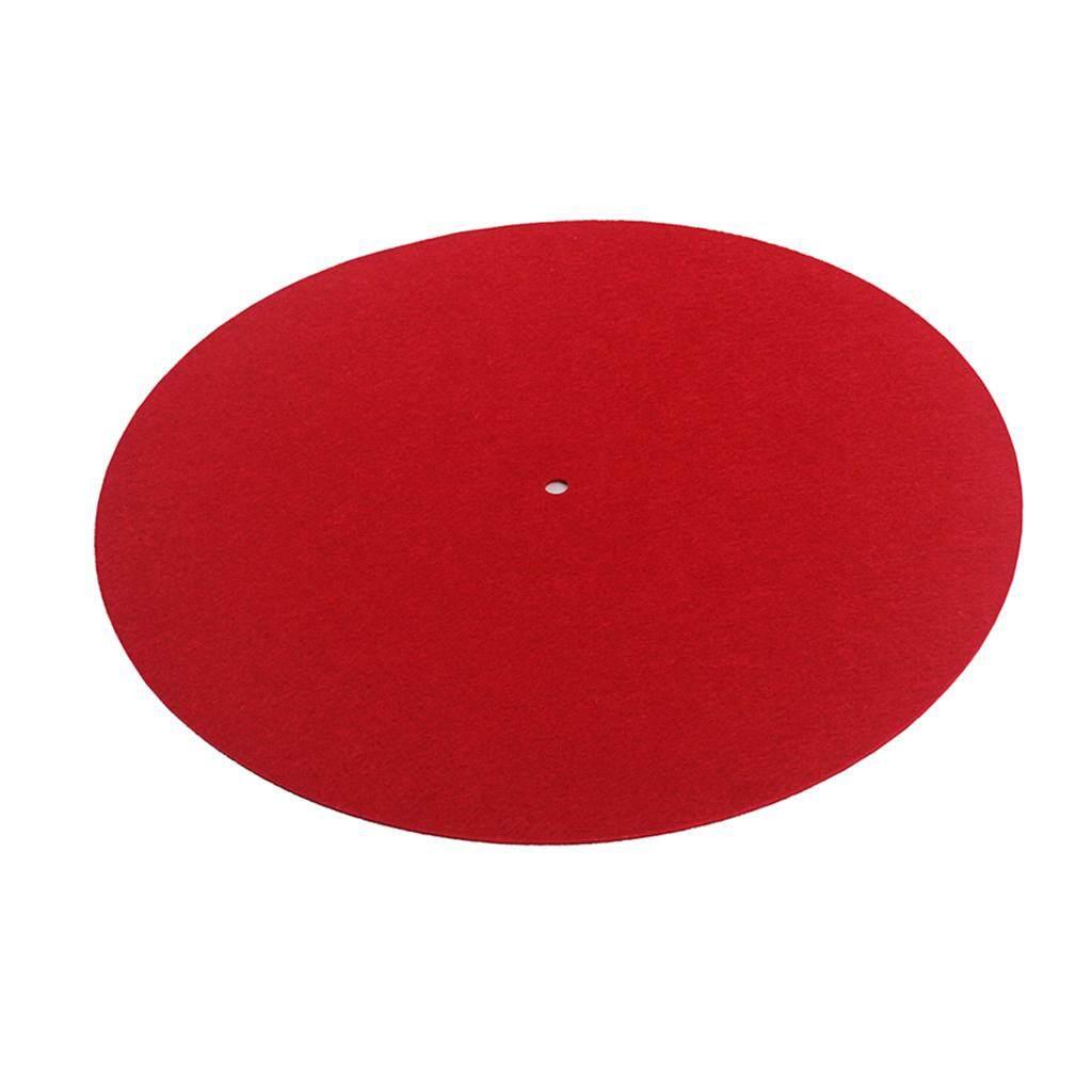 Phép Màu Sáng Bóng Chống tĩnh điện Bàn Xoay Đĩa Cảm Thấy Trượt Kỷ Lục Cầu Thủ Kiểm Âm Miếng Lót Đỏ