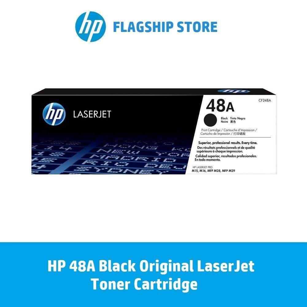 HP 48A Black Original LaserJet Toner Cartridge / HP Laserjet Pro: M15a /  M15w / M28a / M28w / M29w [FREE Delivery][FREE REDEMPTION: 1 x RM30