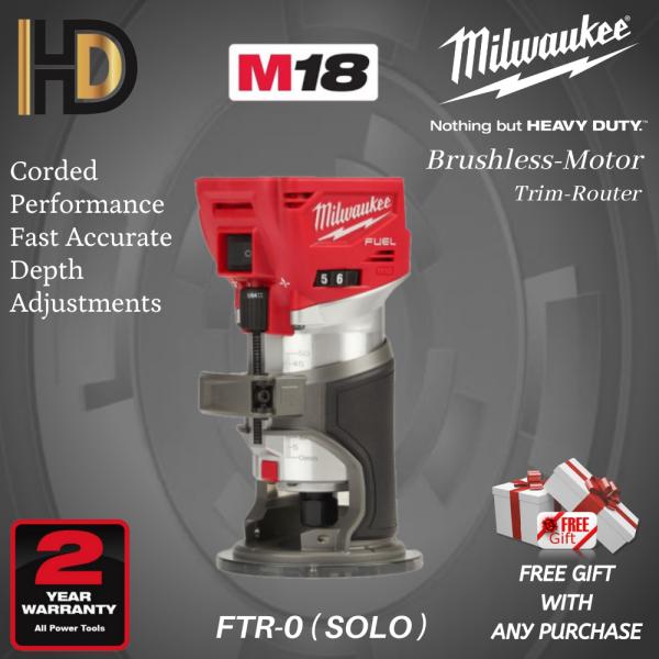Milwaukee M18 FTR-0 Fuel Trim Router ( SOLO )