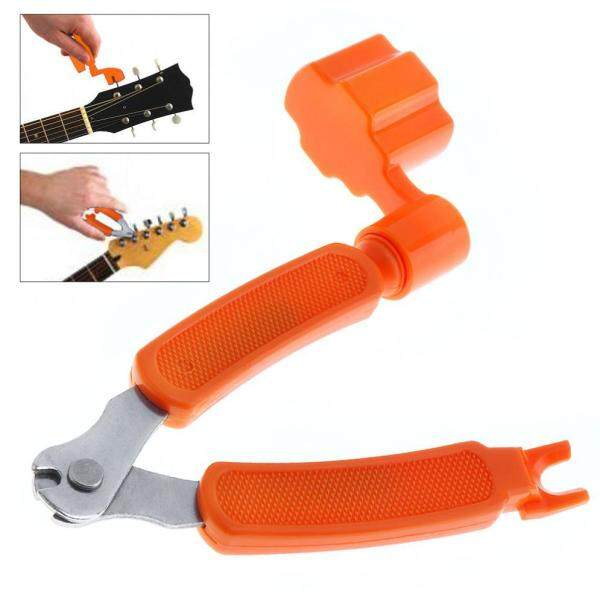 SLADE 3 IN 1 Multifunctional Guitar Tool Guitar Winder + String Cutter + Pin Puller Instrument Malaysia