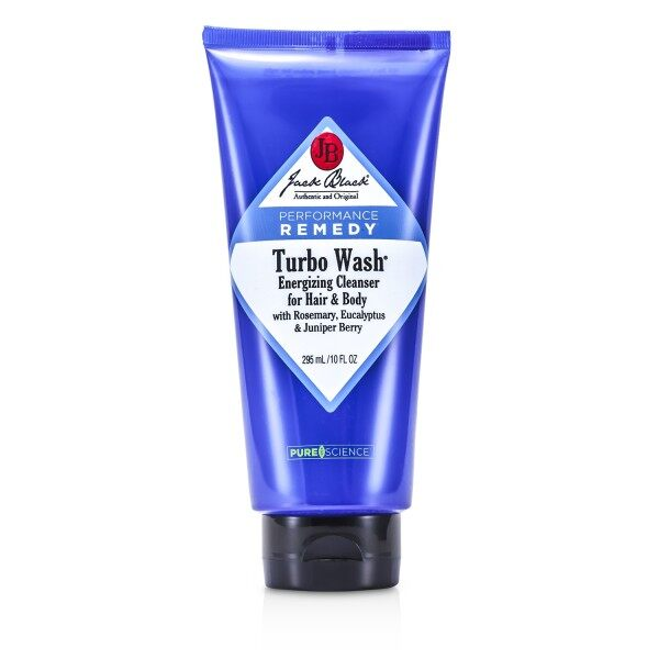 Buy JACK BLACK - Turbo Wash Energizing Cleanser For Hair & Body 285ml/10oz Singapore