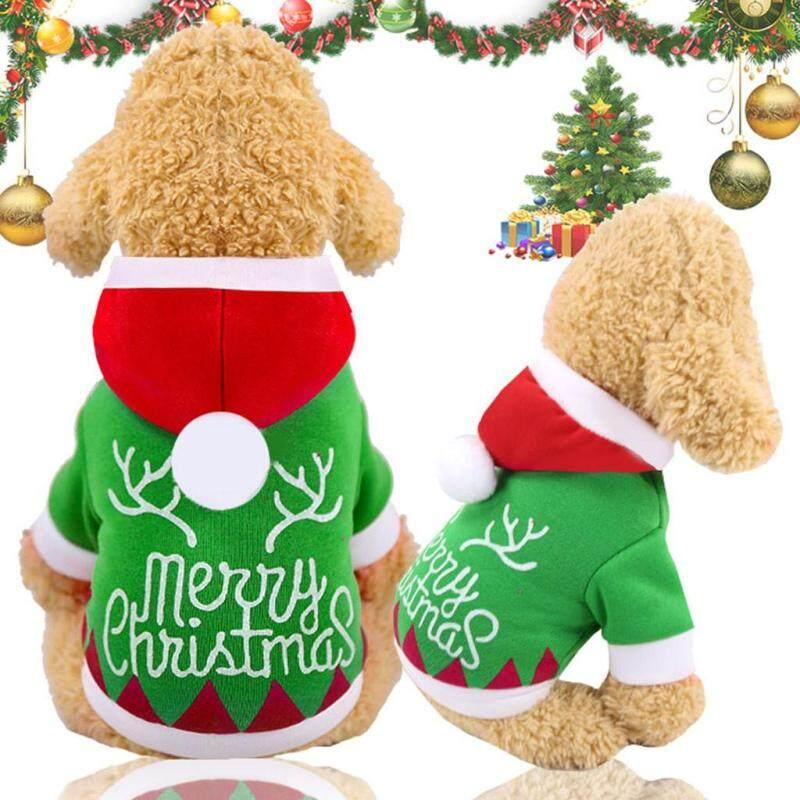 Quần Áo Giáng Sinh Cho Chó Mèo Kikipet, Quần Áo Dày Ấm Áp