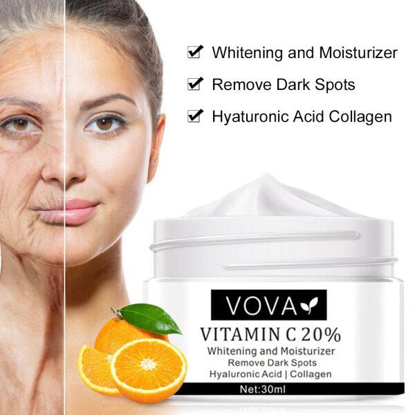 VOVA [Hàng Có Sẵn] Kem Dưỡng Da Mặt Làm Trắng Tàn Nhang Vitamin C 20%, Kem Xóa Tàn Nhang Chống Lão Hóa Axit Hyaluronic Xóa Vết Thâm giá rẻ