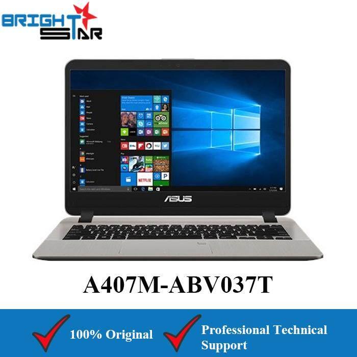 Asus VivoBook A407U-ABV434T Gold (Intel I3-8130U/4GB/256GB SSD/Intel HD/14Inch) Malaysia