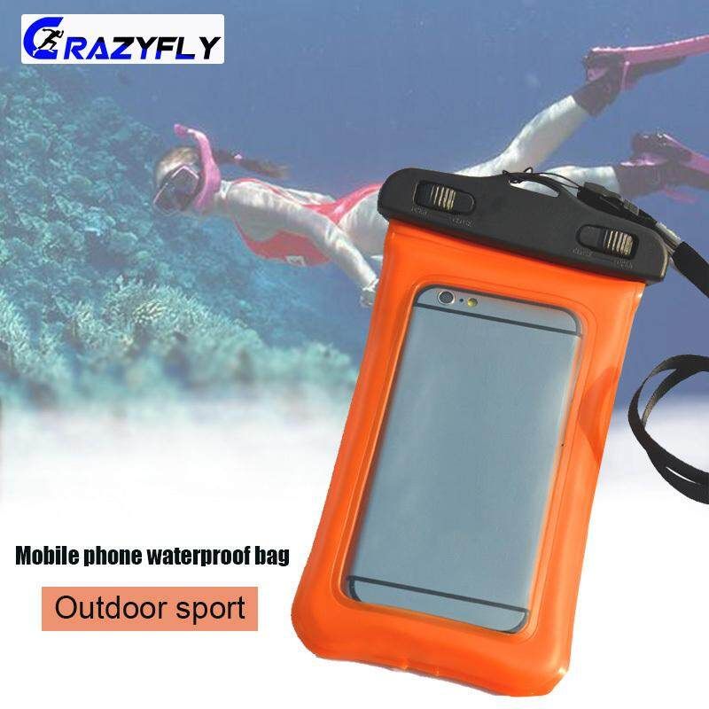 Crazyfly Waterproof Phone Pouch Outdoor Sport Cell Phone Cover Bag for Diving Swimming