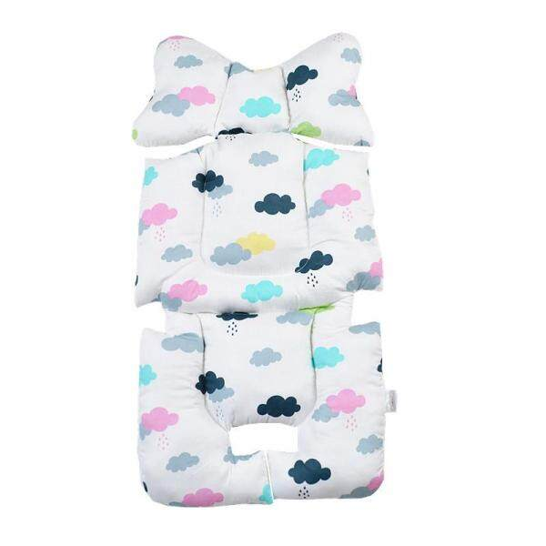 Baby Seat Liner Cotton Car Seat Pad Thick Cushion Newborns Infant Toddler Head Support Baby stroller Accessories Singapore