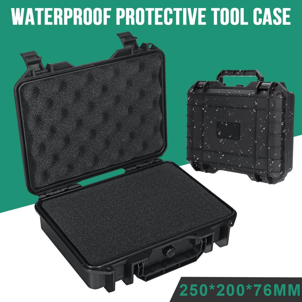 Waterproof Hard Carry Flight Case Bag Camera Photography Storage Box+Free Form Portable Anti-proof Organizer