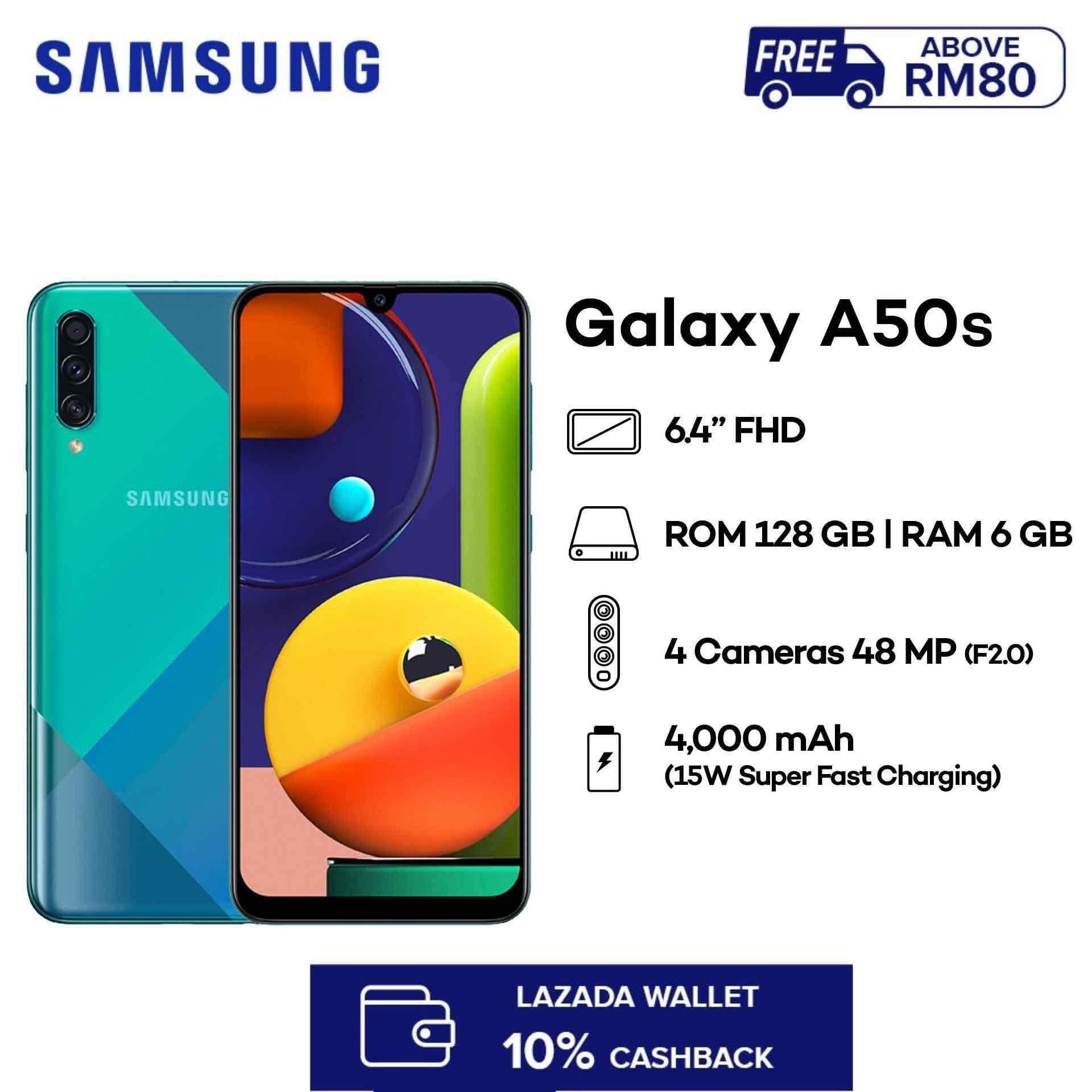 [12.12 Crazy Deals] Samsung Galaxy A50s (6GB RAM + 128GB ROM) Smartphone with 1 Year Samsung Warranty , Free Shipping