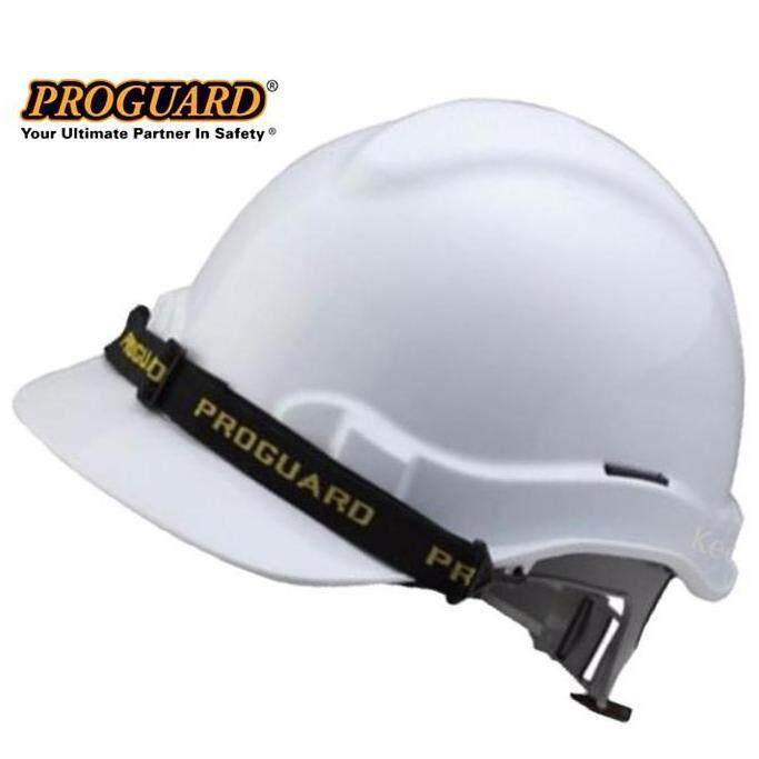 Proguard Sirim White Safety Helmet ( Hg1-Phsl ) By Ylc Handtools.