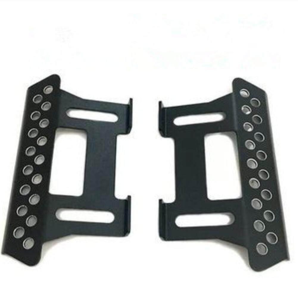 1Pair Black Simulate Metal Side Pedal for 1/10 RC Simulated Crawler Car Axial SCX10
