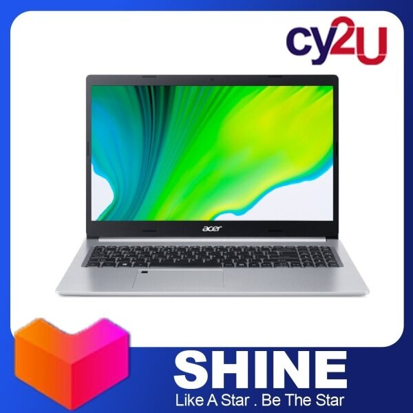 Acer Aspire 5 A515-56-54AW 15.6 FHD Laptop - Pure Silver (Intel Core i5-1135G7, 4GB RAM, 512GB SSD, Intel Iris Xe Graphics, Win10) + Free MS Office H & S and Acer Backpack Malaysia