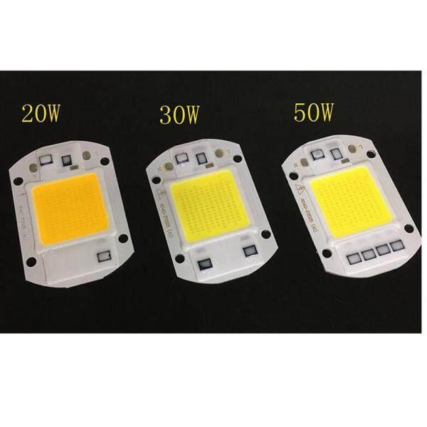 Ngôi Nhà Lớn 220V Đèn Pha LED 20W/30W/50W Trắng/Ánh Sáng Ấm Áp COB Chip Tích Hợp IC Đảo Pha Thông Minh Đèn