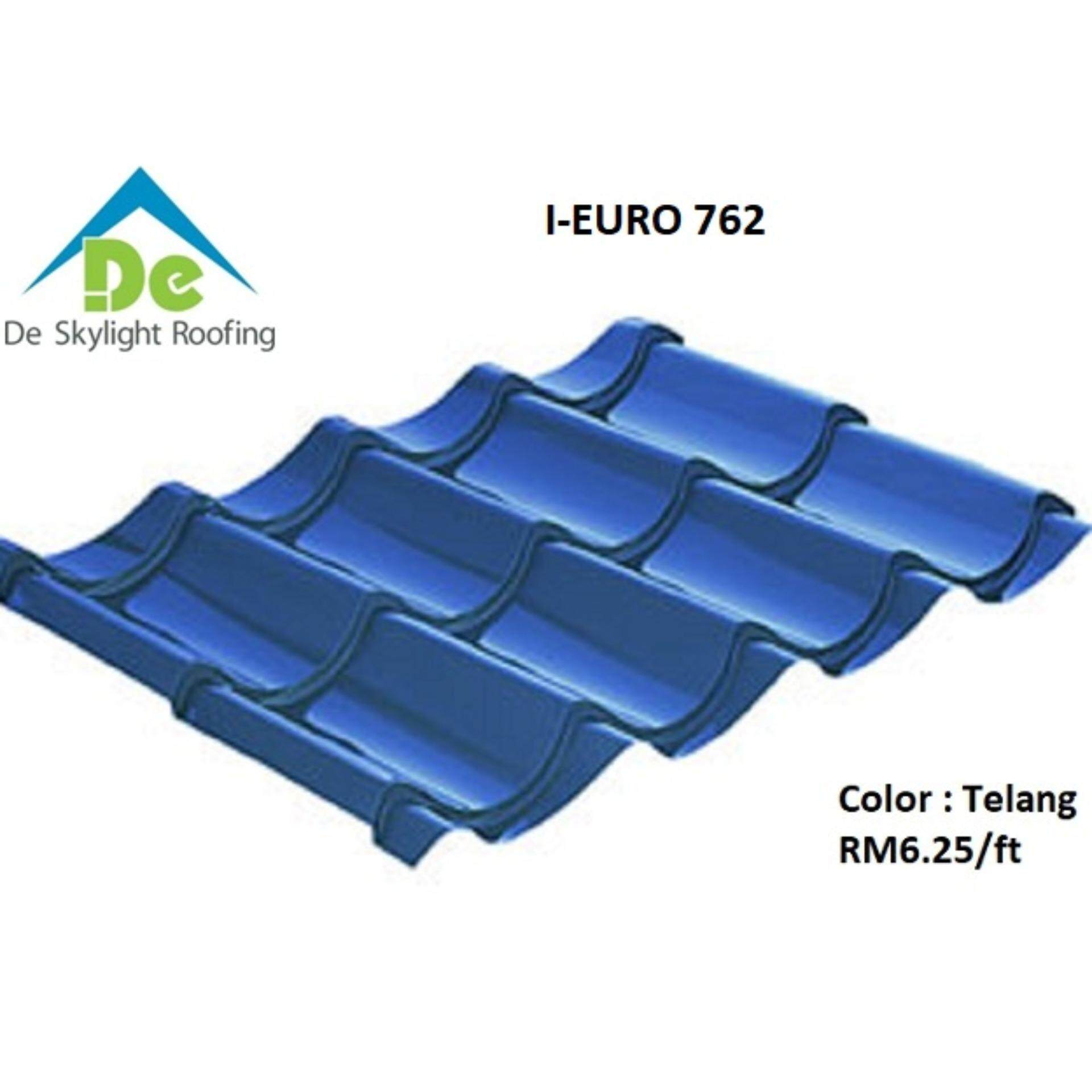 Metal Deck I-Euro 762 Bluescope Zacs Roofing Thickness 0.47mm TCT