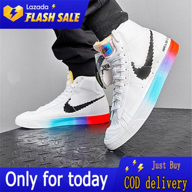 Giày AJ Trò Chơi Video Pixel, Giày Phát Sáng + Quà Tặng Miễn Phí giá rẻ