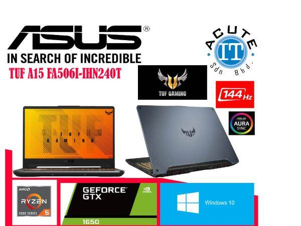 Asus TUF GAMING LAPTOP A15 FA506I-IHN240T Malaysia